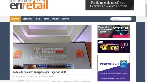 Nota Revista Enretail Nota Hogarnet