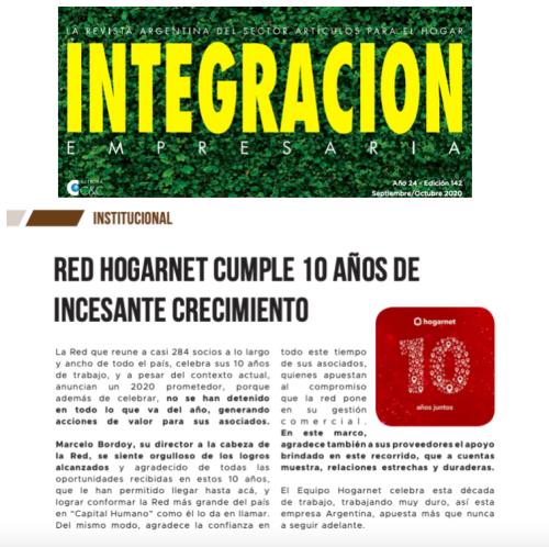 Nota Prensa Integración Empresaria